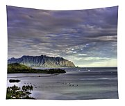 He'eia And Kualoa 2nd Crop Tapestry