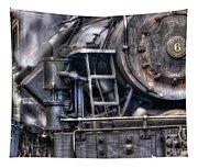 Heisler Steam Engine Tapestry