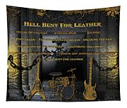 Hell Bent For Leather Tapestry
