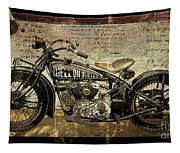Hell On Wheels Tapestry