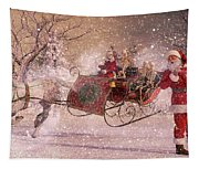 Hello Santa Tapestry