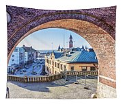 Helsingborg Through The Archway Tapestry