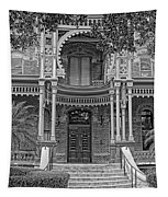 Henry B. Plant Museum Entry Bw Tapestry
