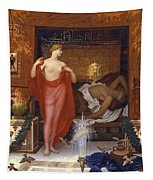 Hera In The House Of Hephaistos Tapestry