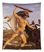 Hercules And The Hydra Tapestry