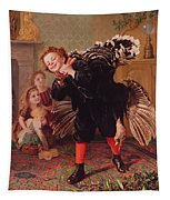 Here Comes The Gobbler Tapestry