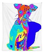 Hermana Muy Curiosa Tapestry