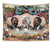 Heroes Of The Colored Race  Tapestry