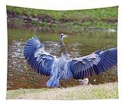 Heron Bank Landing Tapestry
