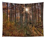 Heron Pond Cypress Trees Tapestry