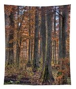 Heron Pond Dawn Tapestry
