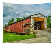 Herr's Mill Bridge - Pa Tapestry