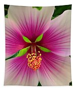 Hibiscus Face Tapestry