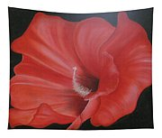 Hibiscus Melody Tapestry