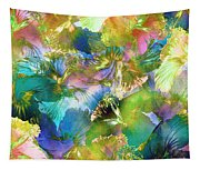 Hibiscus Trumpets Tapestry