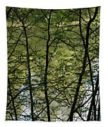 Hidden Pond Natural Fence Tapestry