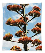 High Country Red Bud Agave Tapestry
