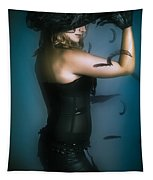 High Fashion Female Mystery Dancer Tapestry