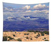 High Road To Taos Panorama Tapestry