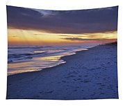 High Tide In Fading Light Tapestry
