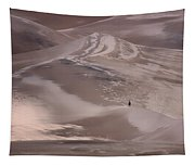 Hiker - Great Sand Dunes - Colorado Tapestry