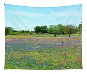 Hill Country Pastel Panorama Tapestry