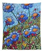 Hillside Blues Tapestry