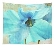Himalayan Blue Poppy Tapestry