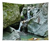 Himalayan Waterfalls Tapestry