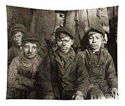 Hine: Breaker Boys, 1911 Tapestry
