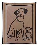 His Masters Voice - Nipper And Chipper Tapestry