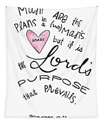 His Purpose Prevails Tapestry