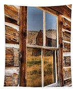Historic Bannack Mining Reflections Tapestry