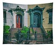 Historic Doors Of Charleston On Bull St Tapestry