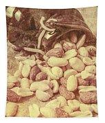 Historic Food Art Tapestry