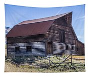 Historic More Barn Tapestry