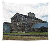 Historical Barron Wheat Flour Mill In Oakesdale Wa Tapestry