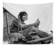 H�l�ne Dutrieu (1877-1961) Tapestry