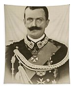 H.m. Victor Emmanuel IIi Of Italy Tapestry