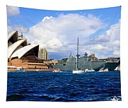 Hmas Adelaide Helps Sydney Celebrate Tapestry