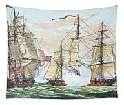 Hms Shannon Vs The American Chesapeake Tapestry