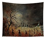 Hobglobins At Night Tapestry