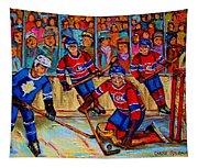 Hockey  Hero Tapestry