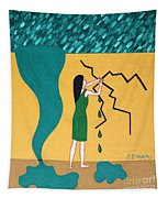 Holding Back The Flood Tapestry