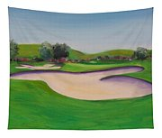 Hole 10 Pastures Of Heaven Tapestry