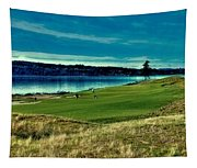 Hole #2 At Chambers Bay Tapestry