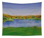 Hole 3 Fade Away Tapestry