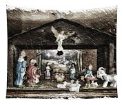 Holiday Christmas Manger Pa 01 Tapestry
