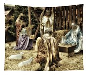Holiday Christmas Manger Pa 02 Tapestry