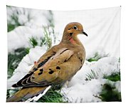 Holiday Dove Tapestry